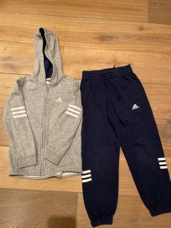 Image 1 of Boys Adidas tracksuit
