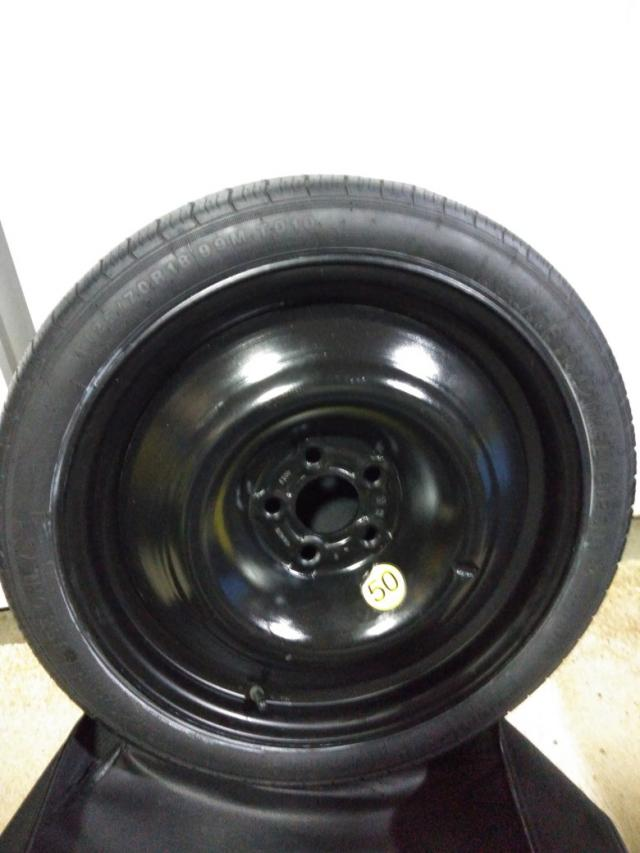 Preview of the first image of Mercedes E Class spare wheel..