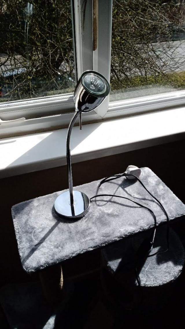 Preview of the first image of DESK LAMP, IN GOOD WORKING CONDITION..