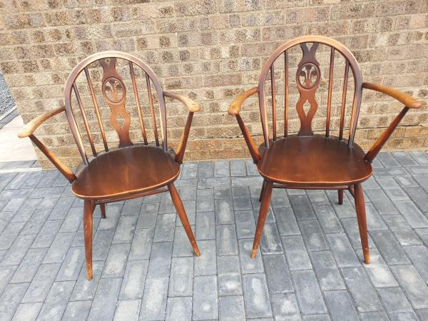 Image 5 of Pair of Ercol chairs
