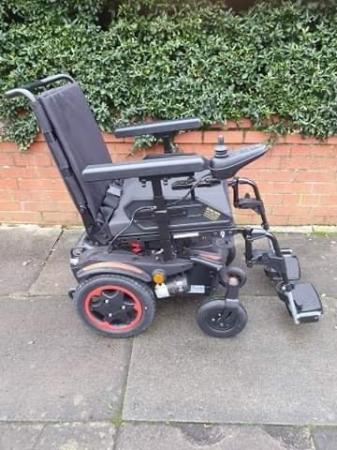 Image 2 of Quickie Q100 R  Ultra Compact Electric Power Wheelchair.