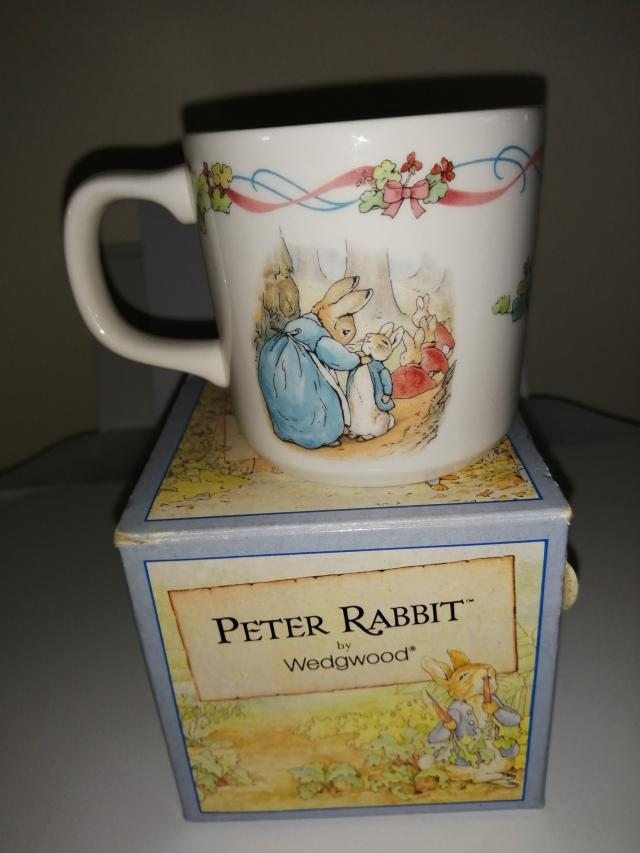 Preview of the first image of Wedgwood - Peter Rabbit - Christening.