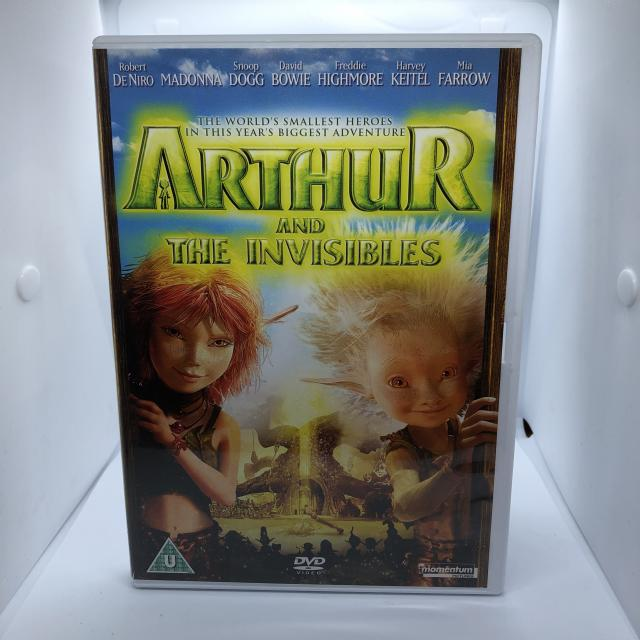 Preview of the first image of ARTHUR AND THE INVISIBLES DVD 2007 Classification U.