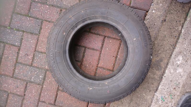 Image 2 of caravan / trailer tyre 155/R12C