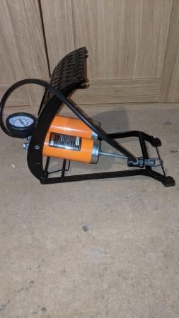 Image 2 of bike pump foot pump