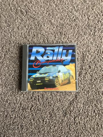 Preview of the first image of Rally simulation game.