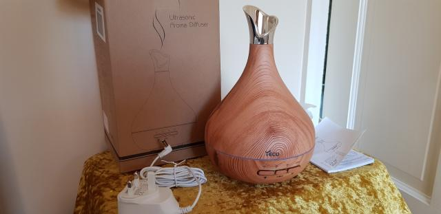Preview of the first image of Yeco Aromatherapy Wooden Diffuser.
