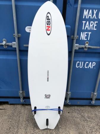 """Image 2 of Surf board for sale - New Surf Project Fish SG 5'6"""" + leash"""