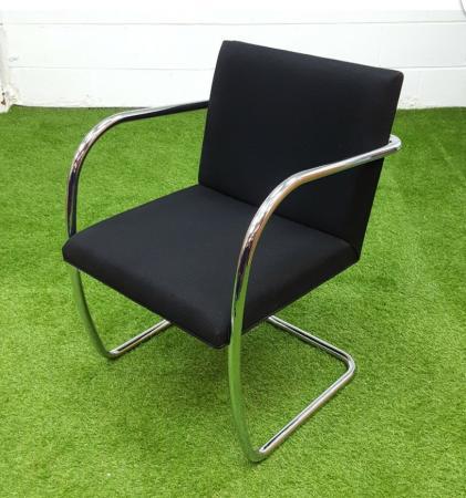 Image 1 of Original Knoll Brno Meeting Chair cheap London Essex