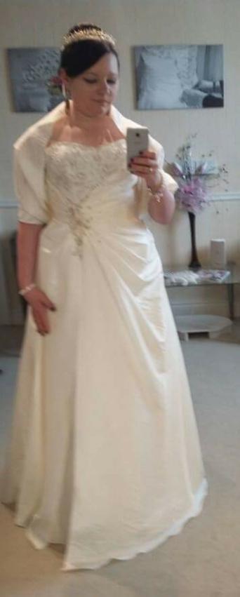 Tiffany Bridal Wedding Dress