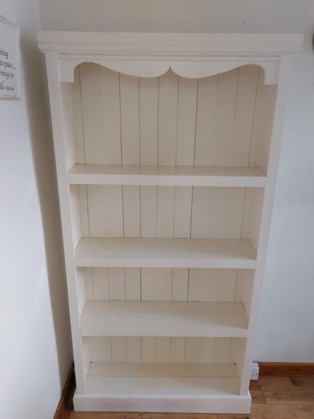 Preview of the first image of Solid pine bookcase.