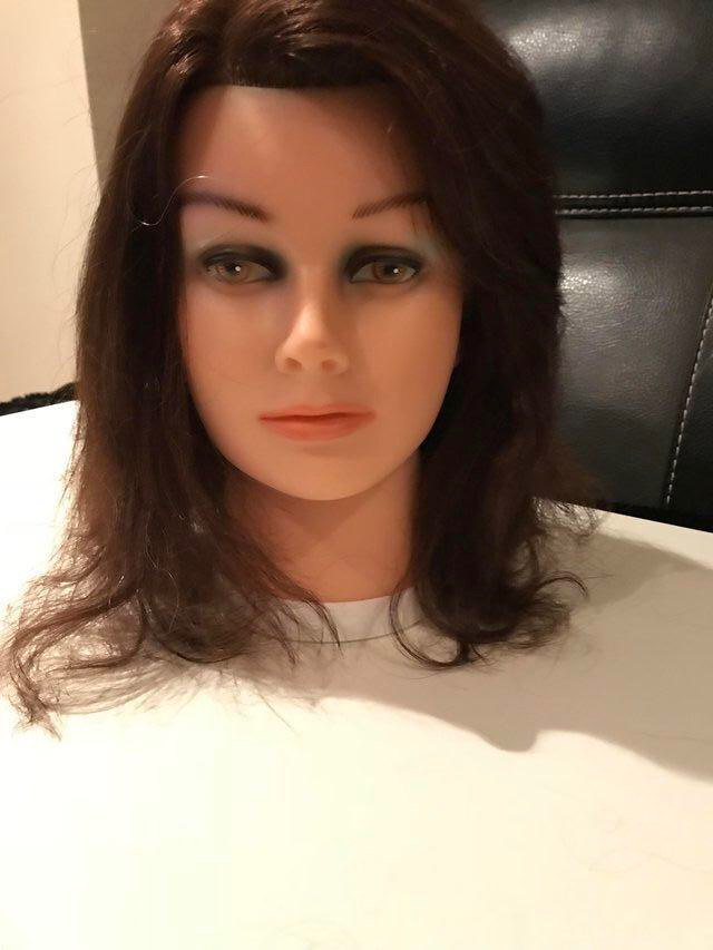 REAL HAIR Model head £10 each for sale  Pickmere