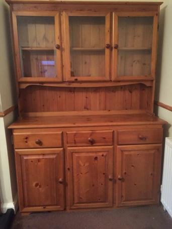 Pine Dresser Top Second Hand Household Furniture And