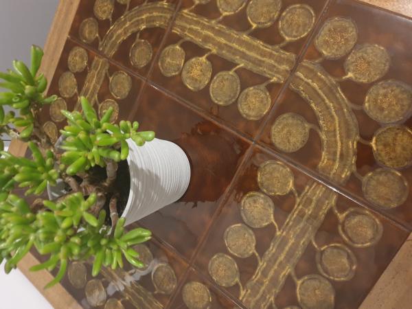 Image 2 of ?? NATHAN TILED COFFEE TABLE ??