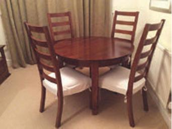 Extending Dining Table And 4 Chairs 250Ono Sideboard 250 Ono Set Of Pyramid Drawers 60 Lamp 30 Dvd Unit 40 All Match The