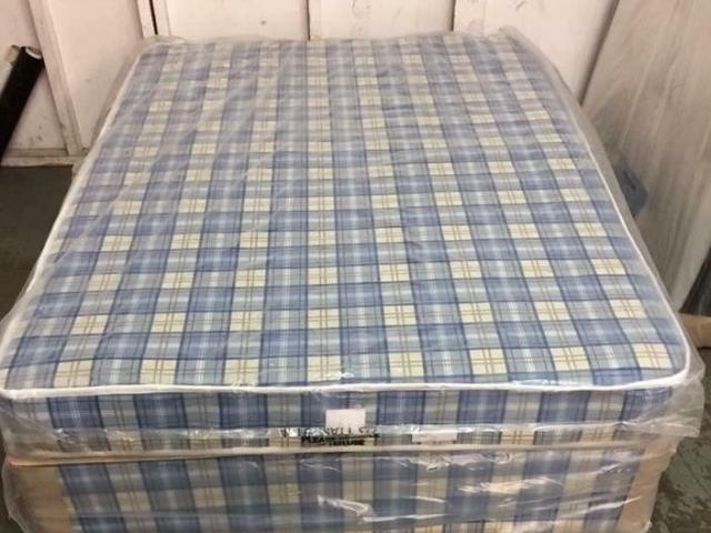 Preview of the first image of BUDGET DIVAN BASE AND MATTRESS - KING SIZE.