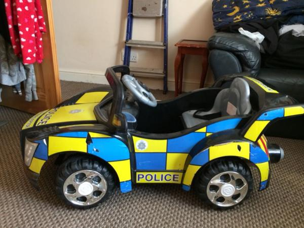 Police Cars For Sale >> Battery Powered Ride In Police Car
