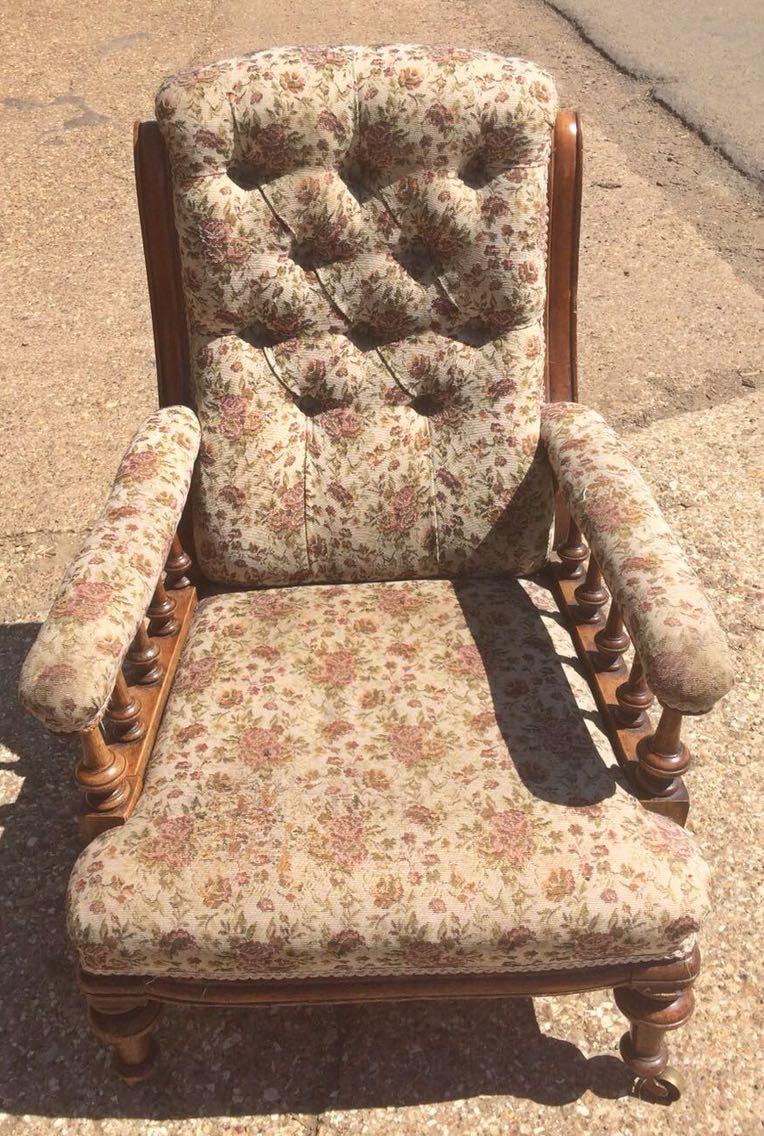Charmant Victorian Armchair