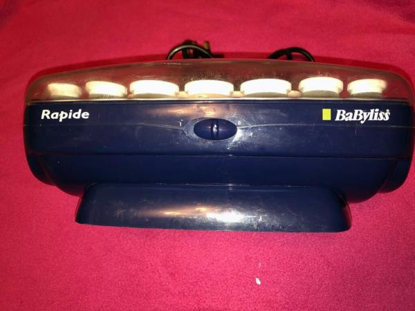 Image 2 of babyliss rapide heated rollers (20 rollers and 6 pins only