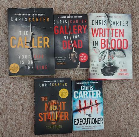 Image 1 of Chris Carter x 5 books