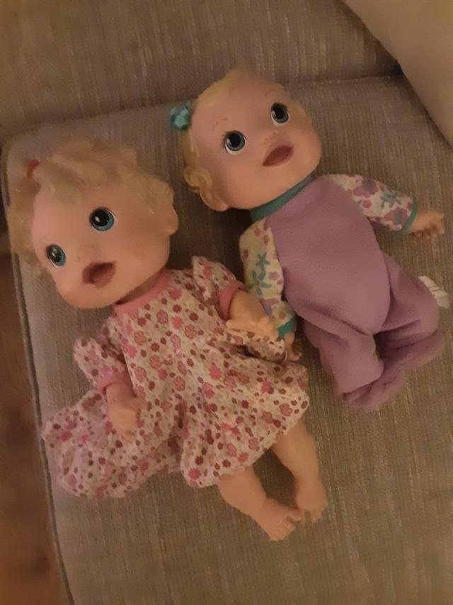 Preview of the first image of Two Baby Alive dolls.