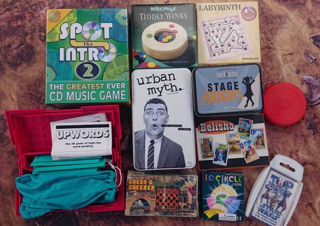 Preview of the first image of Collection of fun party games inc Urban Myths.