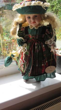 Image 1 of Leonardo Collection Porcelain Doll
