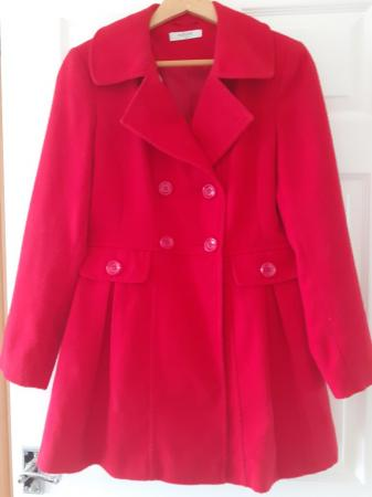 Image 2 of Coat red double breasted
