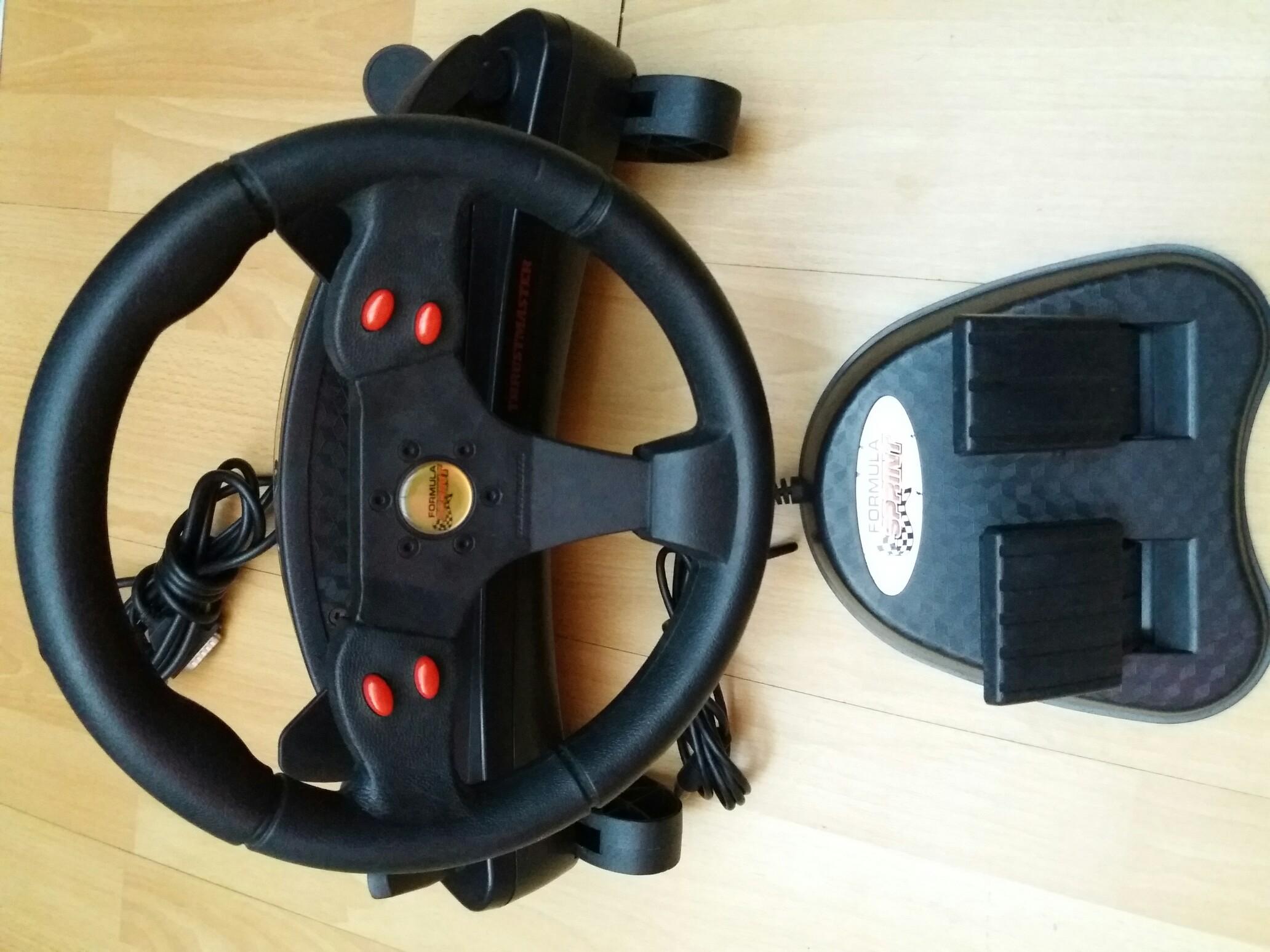 TRUSTMASTER Wheels Formula Sprint Treiber Herunterladen