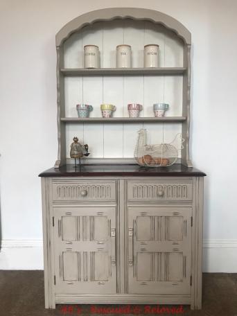 Shabby Chic Dutch Vintage Dresser