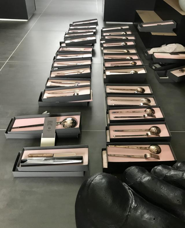 Preview of the first image of Charles Rennie Mackintosh cutlery.