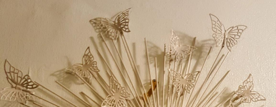 Image 3 of Pretty Butterfly mirror