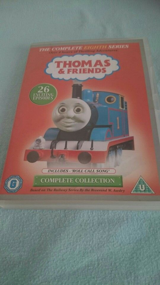 Used, Thomas the tank engine complete series 8 dvd for sale  Swansea