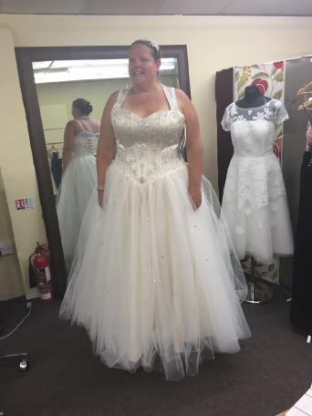 Wedding Dresses Size 22 Second Hand Clothes Bridal Wear