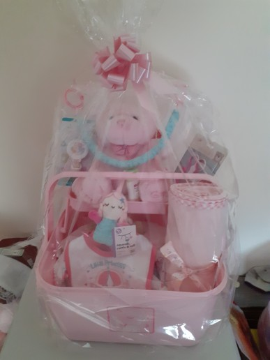 Preview of the first image of baby luxury hampers.
