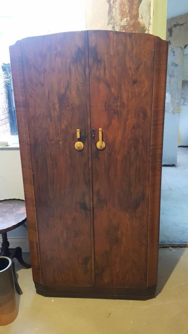 Preview of the first image of Vintage Mid Century Wardrobe.