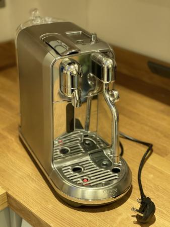 Image 3 of Nespresso Sage Creatista Plus Coffee Machine