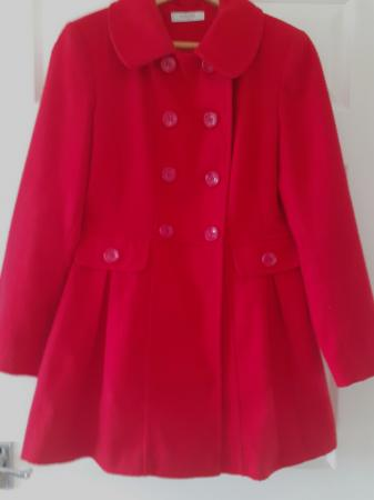 Image 1 of Coat red double breasted