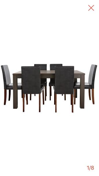 6 Seat Dining Table Chairs