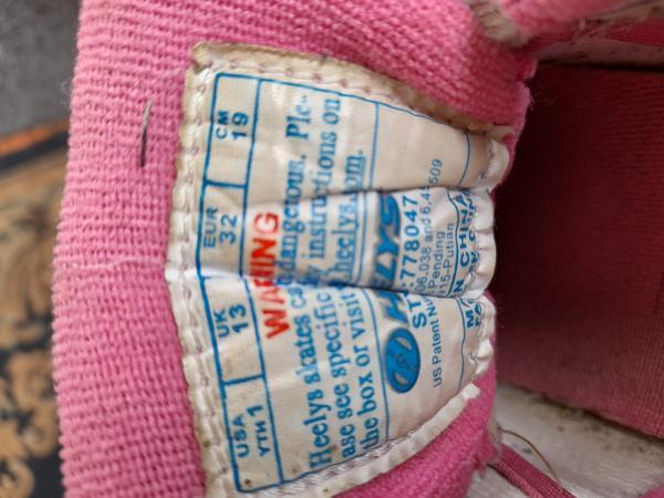 Image 3 of Girls Heelys size 13