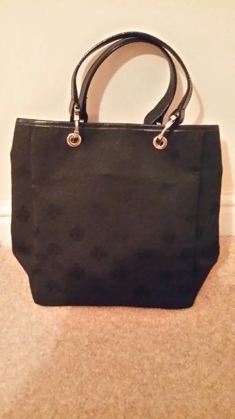 100% AUTHENTIC BLACK MULBERRY SMALL LOGO TOTE BAG 13bfc66faf4c4
