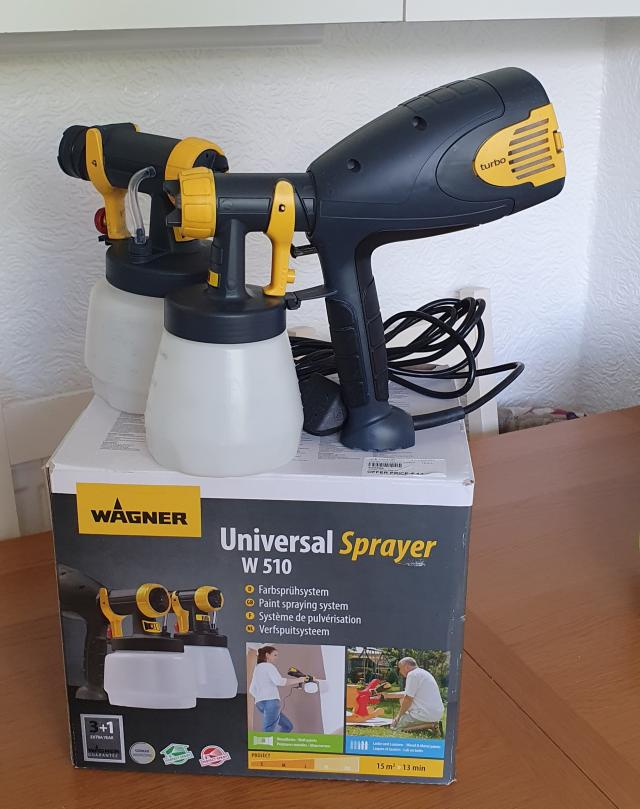 Preview of the first image of Wagner W510 paint sprayer.