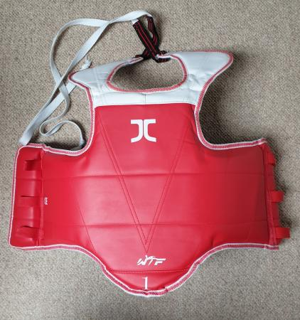 Image 2 of Child's Taekwondo Body Armour Size 1.