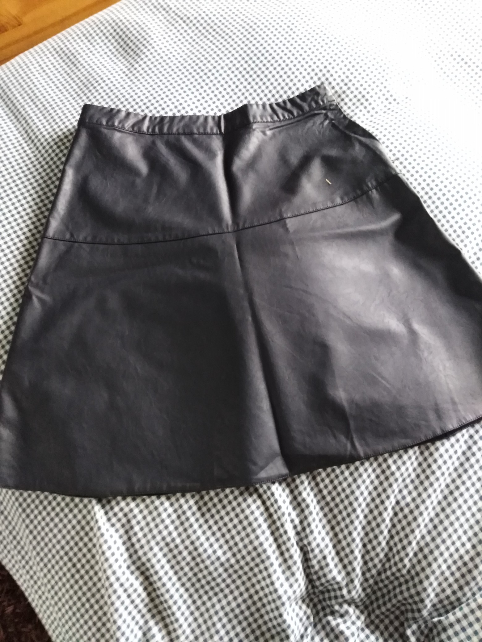 Well-Educated Hnm Leather Skirt Size 14 Women's Clothing