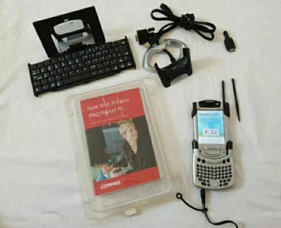 Image 6 of Compaq iPAQ Pocket PC H3950 Windows Mobile 400 MHz, Rare