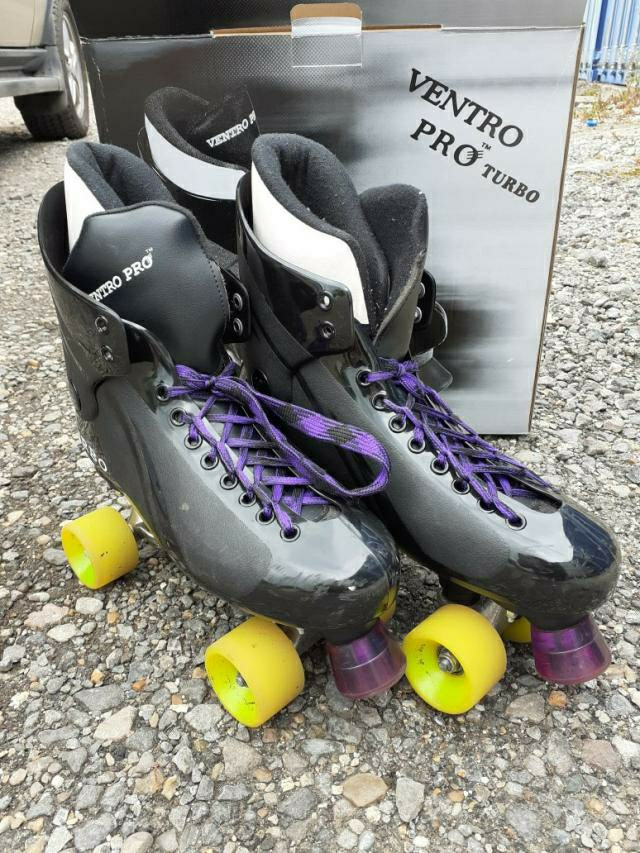 Preview of the first image of Ventro Pro Turbo Quad Skates Sizes 7.