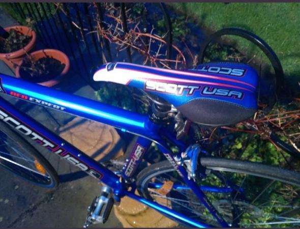 Image 2 of Scott racing bike