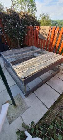 Image 1 of Outdoor Run For Rabbits /Guiinipig Ferret