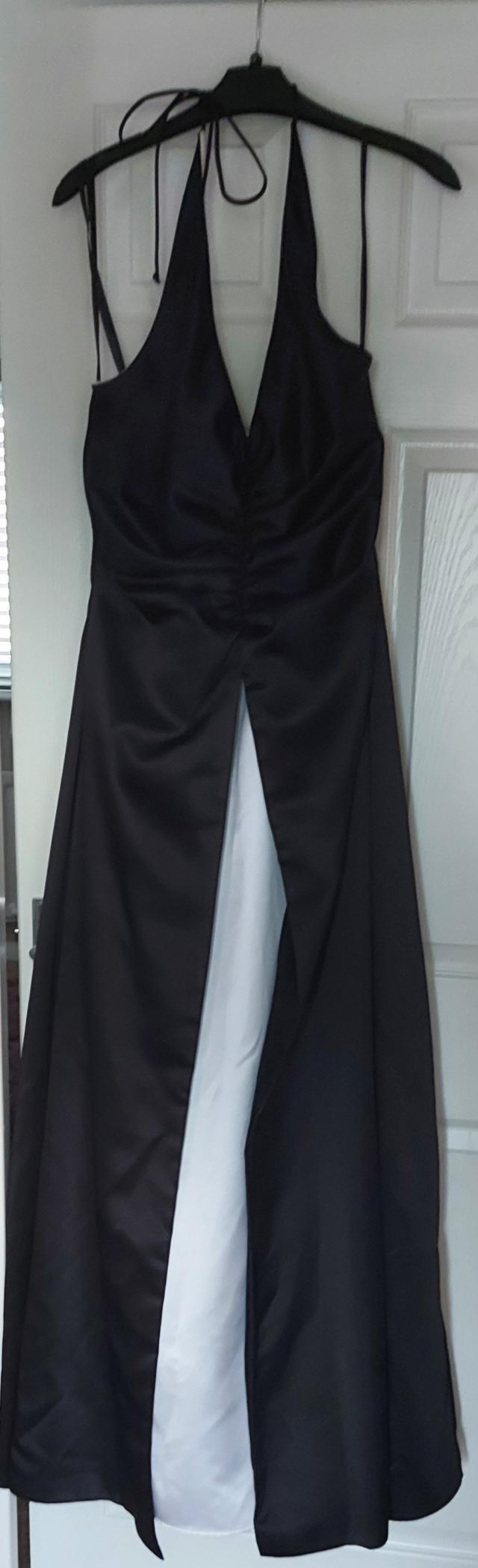 Preview of the first image of Betsy & Adam evening gown/prom dress size 12 worn once.