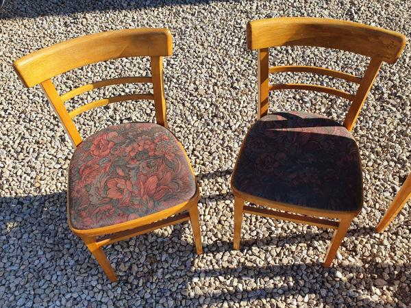 Image 3 of vintage,retro,old,table and chairs